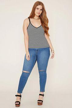 Plus Size Stripe Cami #forever21plus
