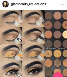 15 Easy & Gorgeous Makeup Looks For Beginners - Natural Eye Makeup - . - - 15 Easy & Gorgeous Makeup Looks For Beginners - Natural Eye Makeup - Mac Makeup, Skin Makeup, Eyeshadow Makeup, Makeup Brushes, Beauty Makeup, Eyeshadows, Eyeshadow Steps, Eyeshadow Palette, Easy Eyeshadow