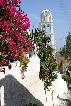 Mesa Gonia Santorini The village was destroyed by the 1956 earthquake  The village today has carry in Kamari the most tourist camp village in Santorini. The village name is Episkopi Gonia or Mesa Gonia (through the corner ) Today holds like the first day after 1956 earthquake