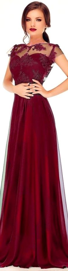 Simple Outfits, Cool Outfits, Burgundy Dress, Fashion Lookbook, Lace Dresses, Formal Dresses, Dress To Impress, Evening Dresses, Backless