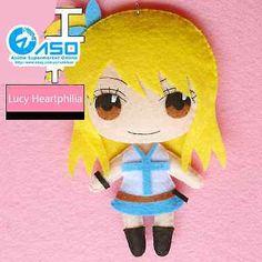 Аниме хвост феи люси персонажа ручной работы самодельный игрушка брелок сумка висячий плюшевая кукла