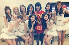 Girls' Generation with Katy Perry
