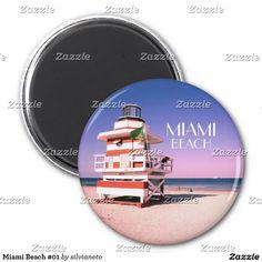 """SOLD to Brazil! """"Miami Beach 1 magnet"""" thanks :) #MiamiBeach #Miami #Florida #StateOfFlorida #Sunshine #BeachPatrol #Lifeguard"""