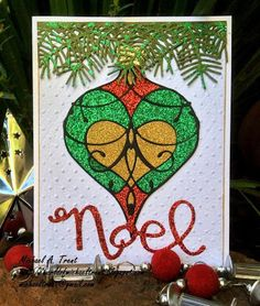 World Of Michael Trent: Christmas Card in May with Memory Box