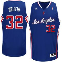 79bbdd77e2a Blake Griffin LA Clippers adidas Swingman Alternate Jersey - Royal Blue