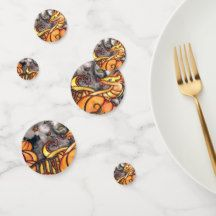 Fairychamber: products on Zazzle Spooky Halloween, Halloween Treats, Halloween Pumpkins, Happy Halloween, Halloween Party, Oreo Pops, Halloween Celebration, Chocolate Covered Oreos, Confetti