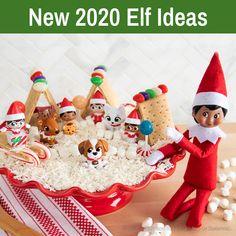 New Elf Ideas   2020 Elf on the Shelf Ideas   Elf Ideas for 2020 Cozy Christmas, Holiday Fun, Christmas Time, Holiday Gifts, Christmas Crafts, Elf On The Self, The Elf, Elves At Play, Elf Pets
