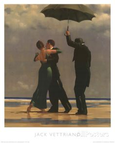 Dancer In Emerald Prints by Jack Vettriano at AllPosters.com