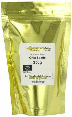 Buy Whole Foods Organic Chia Seeds 250 g: Amazon.co.uk: Grocery