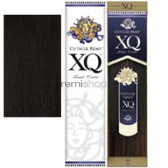 """XQ Cuticle Remy Yaky 10""""s(short) - Color 1B - Remi Weaving"""