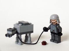 Awwww, it's a mini Lego AT-AT!