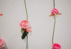 If you loved our fresh flower wall from our GWS display at The Cream then you're in luck! We are sharing the simple + easy DIY on how to re-create it today! We love how whimsical + pretty fresh blooms look on a wall and think this would make the most perfect ceremony or photo...