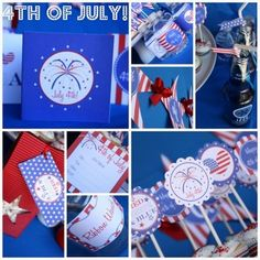 independence day party printables