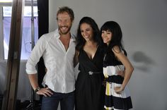 Lost Girl's Kris Holden-Ried, Anna Silk and Ksenia Solo love this show!!!