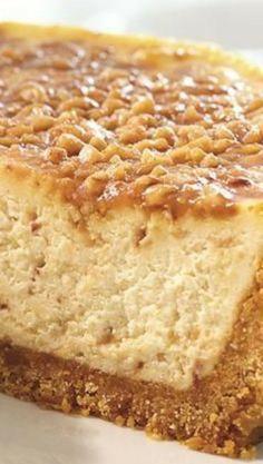 English Toffee Cheesecake Recipe