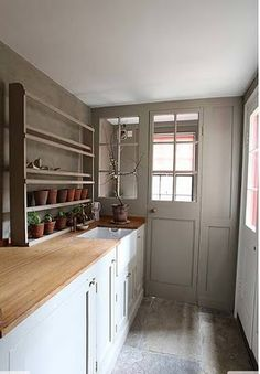 mudroom and garden room