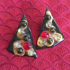 resin earrings-FREE SHIPPING-handmade earrings-gypsy