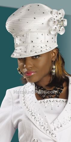 DonnaVinci Couture Church HATS H1228