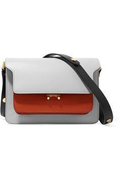 89471154891 Marni - Trunk medium color-block leather shoulder bag