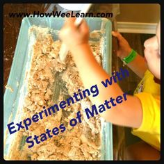 Trendy science experiments for preschoolers states of matter 42 Ideas Science Experiments For Preschoolers, Preschool Science Activities, Creative Activities For Kids, Cool Science Experiments, Kindergarten Science, Science Classroom, Teaching Science, Science Education, Science For Kids