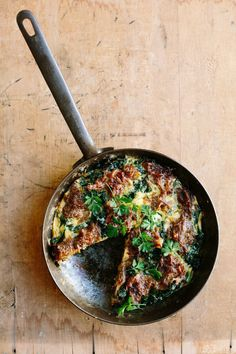 Kale + Caramelized Onion Frittata | My Darling Lemon Thyme