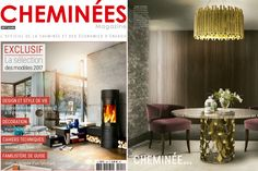 Cheminées featuring #BRABBU ambiences | Modern Interior Design. Home Decor. Furniture Design. #homedecor #interiordesign #diningroomdesign
