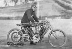 The North London Garage Motorcycle, hits 90 M.P.H. at Brooklands in 1909