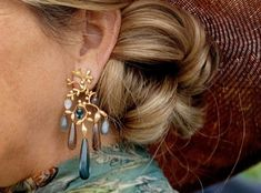 Royal Jewelry, Queen Maxima, Royalty, Drop Earrings, Stylish, Beauty, Dutch, Countries, Collage