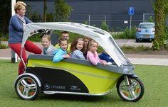 e-bike taxi for commuting