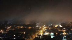 Cae la niebla en Rosario
