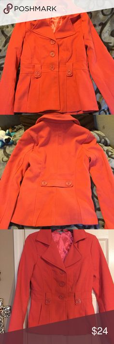 Charlotte Russe corduroy button up jacket. Adorable jacket,cute color Charlotte Russe Jackets & Coats