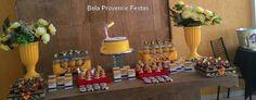 Bela Provence Festas - Brasília: Como decorar uma mesa de festa?