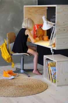 1000 id es sur le th me meubles fabriquer soi m me sur pinterest ana whit - Fabriquer bureau enfant ...