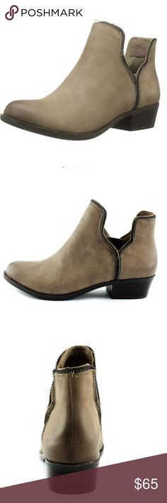 BCBG leather booties Gorgeous booties by BC BG, 100% leather, size 8 BCBGeneration Shoes Ankle Boots & Booties