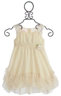 Gabriela's Easter Dress 2015 So excited!!! Biscotti French Antique Dress with Lace $78.00