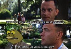 cartoon moments memes chocolate spongebob