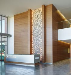 Commercial Design- Office Building double hieght and mezanen