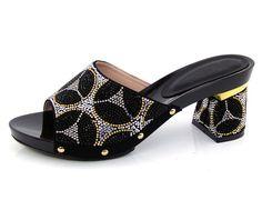 Women Slipper 2016 Ladies Summer Slippers Shoes Women Low Heels Slipper Large Size 38-43 Fashion black Rhinestone Shoes DX16-708