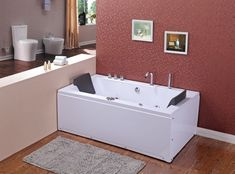 If you do not like transparent glass on the front of the panel, you can buy a #Ramona #bath, a full and white #panel with massage jets, #double ended. The price includes battery, water pump, drain and siphon !. Check out on Ebay