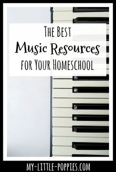 The Best Music Resources for Your Homeschool Elementary Music Lessons, Music Lessons For Kids, Music Lesson Plans, Music For Kids, Good Music, Music Music, Music Activities, Movement Activities, Music Classroom