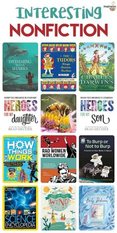 Top nonfiction books for kids