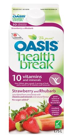 Get Juicy With The Oasis Canada Twitter Party On APRIL 3rd #OasisJuice