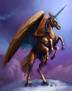 Six Legged Horse of Legend by BJPentecost.deviantart.com on @deviantART