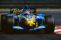 #8 Fernando Alonso...Mild Seven Renault F1 Team...Renault R24...Motor Renault RS24 V10 3.0...GP Hungria 2004