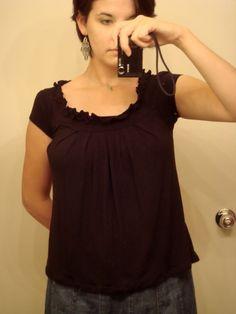 Refashioned shirt.
