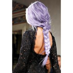Items similar to HAIR CHALK: Light Periwinkle // Temporary Hair Color... ❤ liked on Polyvore featuring accessories and hair accessories