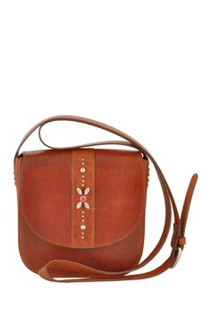 The Ariel Leather Crossbody