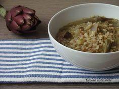 Zuppa ai tre cereali Cucina vista mare