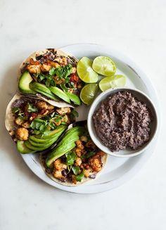Breakfast Taco Brunch - Cauliflower Huevos Rancheros