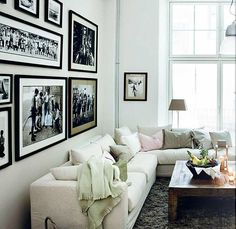 Country Homes & Interiors-assortment of  black and whites-matted and framed